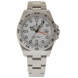 Rolex Explorer II 216570 Stainless Steel White Dial Automatic 42mm Mens Watch 2017