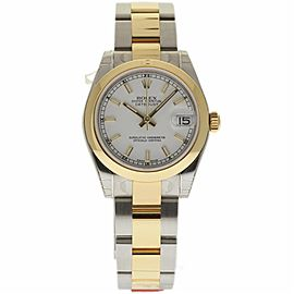 Rolex Datejust 178243 Stainless Steel and 18K Yellow Gold Automatic 31mm Womens Watch