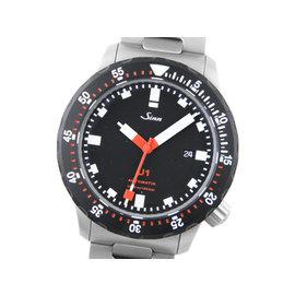 Sinn U1.SDR U-Boat Stainless Steel Black Dial 44mm Mens Watch