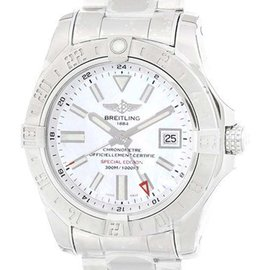 Breitling Avenger II A3239011 Stainless Steel Mother of Pearl 43mm Mens Watch