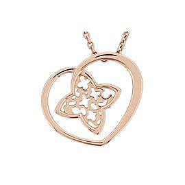 Louis Vuitton 18K Rose Gold Pendant Necklace