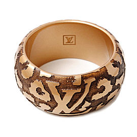 Louis Vuitton Wood Leopard Bracelet