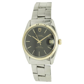 Tudor Prince Oyster Stainless Steel & 14K Gold Automatic 34mm Unisex Watch