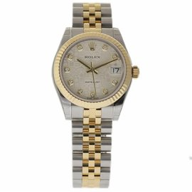 Rolex Datejust 178273 Stainless Steel & 18K Yellow Gold Automatic 31mm Womens Watch