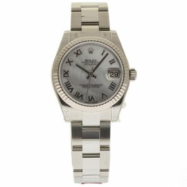Rolex Datejust 178274 Stainless Steel / 18K White Gold Automatic 31mm Womens Watch