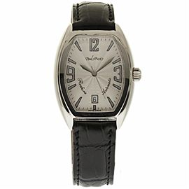 Paul Picot Firshire 4097 Stainless Steel & Crocodile Leather Automatic 35mm Unisex Watch