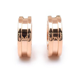 Bulgari B-zero1 18K Rose Gold Earrings