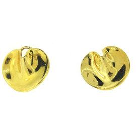 Tiffany & Co. Angela Cummings 18K Yellow Gold Fortune Cookie Earrings