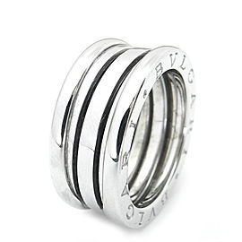 Bulgari B.zero 1 18K White Gold Ring Size 6