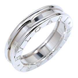 Bulgari B-Zero 1 18K White Gold Band Ring Size 5