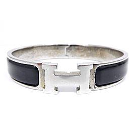 Hermes Cloisonne & Enamel H Logo Bangle Bracelet