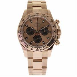 Rolex Daytona 116505 18K Rose Gold Automatic 40mm Mens Watch 2014