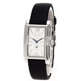 Tiffany & Co. Z0035.13.10A21A Stainless Steel / Satin Quartz 22mm Womens Watch
