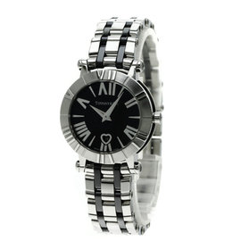 Tiffany & Co. Atlas Z1301.11.11A0A00A Stainless Steel / Ceramic Quartz 30mm Womens Watch