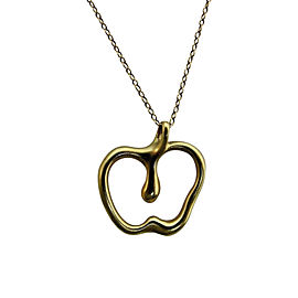Tiffany & Co. Elsa Peretti 18K Yellow Gold Apple Necklace