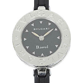 Bulgari B.Zero1 BZ22S Stainless Steel and Rubber Quartz 22mm Womens Watch