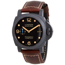 Panerai Luminor PAM00661 Carbotech & Leather Automatic 44mm Mens Watch