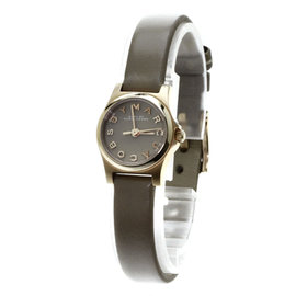 Marc By Marc Jacobs MBM 1239 Gold Plated & Leather Quartz 20mm Womens Watch