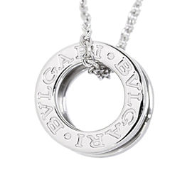 Bulgari B-zero1 18K White Gold Necklace