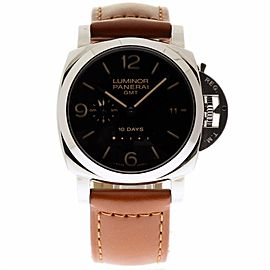 Panerai Luminor 1950 PAM00533 Stainless Steel & Leather 44mm Mens Watch