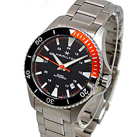 Hamilton Khaki Navy Scuba H82305131 Stainless Steel Automatic 41 mm Mens Watch