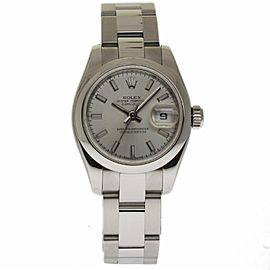 Rolex Datejust 179160 Stainless Steel with Silver Dial Automatic 26mm Womens Watch