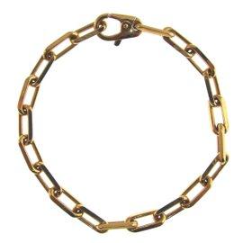 Cartier Chic 18K Yellow Gold Spartacus Link Bracelet