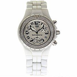 Technomarine Technodiamond DTC55C White Ceramic Automatic 40mm Womens Watch