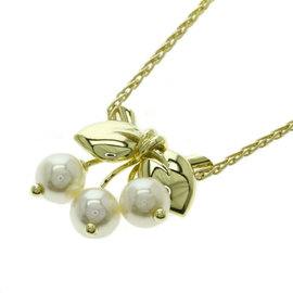 Van Cleef & Arpels 18K Yellow Gold with Pearl Necklace
