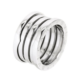 Bulgari B-zero 1 18K White Gold Ring Size 5.5