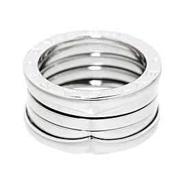 Bulgari B-zero 1 18K White Gold Band Ring Size 5.5