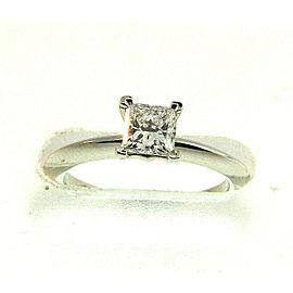 Tiffany & Co. Platinum Diamond Engagement Ring Size 5