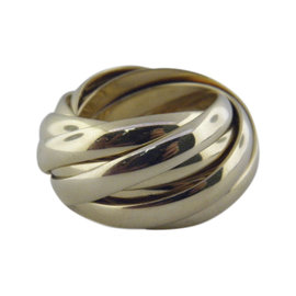 Tiffany & Co. Paloma Picasso 18K Yellow Gold Melody 9 Band Ring Size 6.5