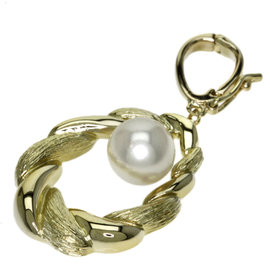 Mikimoto 18K Yellow Gold with Pearl Pendant