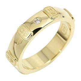 Harry Winston 18K Yellow Gold Diamond Ring US5