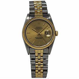Rolex Datejust 16233 36mm Unisex Watch