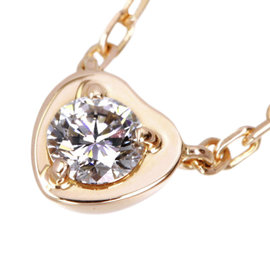 Cartier 18K Rose Gold with Diamond Légers Necklace