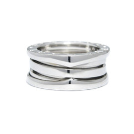Bulgari B. Zero 1 18K White Gold Ring Size 4.25