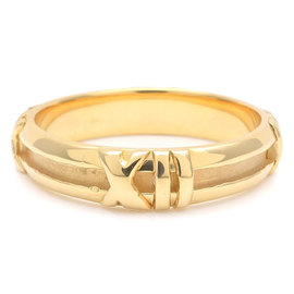 Tiffany & Co. Atlas 18K Yellow Gold Ring Size 6.5