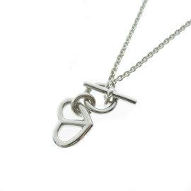 Hermes Amulet 925 Sterling Silver Pendant Necklace