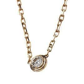 Cartier Leger 18K Rose Gold with Diamond Necklace