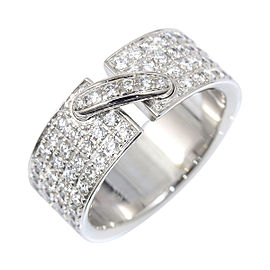 Chaumet 18K White Gold with Diamond Liens de Ring 6