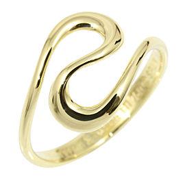 Tiffany & Co. Elsa Peretti 18K Yellow Gold Ring Size 5.25