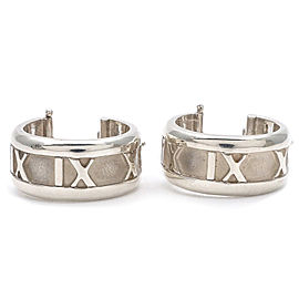 Tiffany & Co. Atlas 925 Sterling Silver Earrings