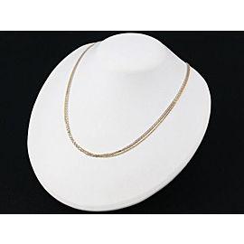 Cartier Trinity Necklace 18K Tri-Gold