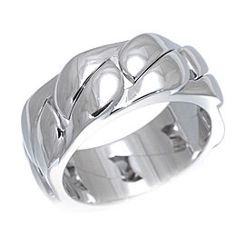 Cartier La Dona Ring 18K White Gold Size 6