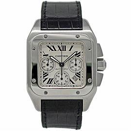 Cartier Santos 100 W20090X8 42mm Mens Watch