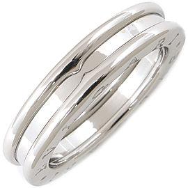 Bulgari B-zero1 18K White Gold Rings Size 8.5