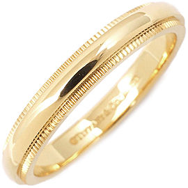 Tiffany & Co. Milgrain 18K Yellow Gold Ring