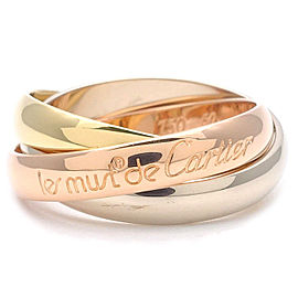 Cartier Cartier Trinity Ring 18k White, Rose and Yellow Gold Size 5